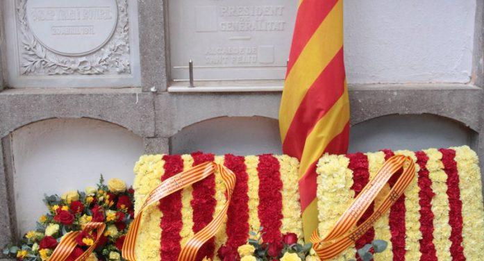 Ofrena a les restes del president Irla