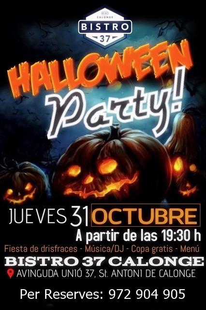 ¿Encara no tens plans a la nit de Halloween?