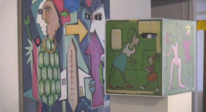 L'artista colombià Duván López exposa a Sant Feliu de Guíxols