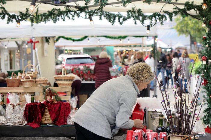 La fira Platja d'Aro Nadal Shopping en marxa amb diverses novetats