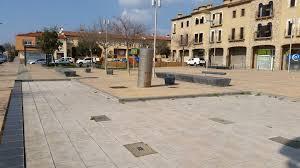 La plaça «Bella Pedra» de Santa Cristina es dirà plaça 1 d'octubre de 2017
