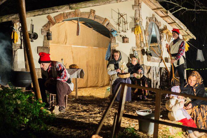 El Pessebre Vivent de Castell d'Aro estrena recorregut i nous quadres