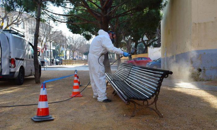 L'Ajuntament continua amb els treballs de millora i manteniment de la via pública