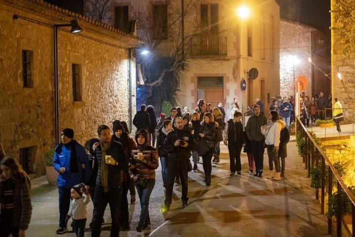 GAIREBÉ 23.000 PERSONES A LES PRINCIPALS ACTIVITATS DE NADAL DE CASTELL-PLATJA D'ARO: PESSEBRE VIVENT, PARC INFANTIL, PISTA DE GEL I EXPOSICIONS