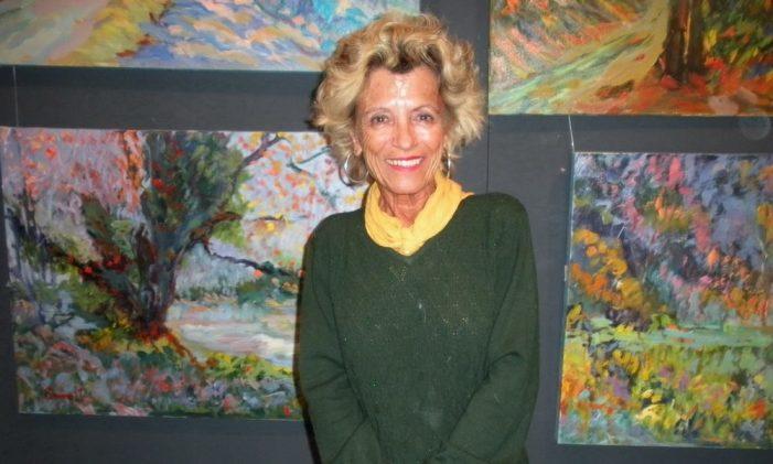 La pintora local Queralt Ruscalleda ens deixava el passat dijous 23 de gener a l'edat de 72 anys