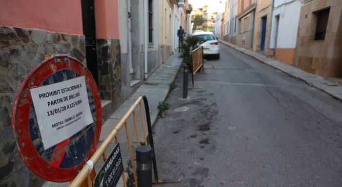 L'obra del carrer Girona, a Sant Feliu, arrenca avui i s'espera que duri set mesos
