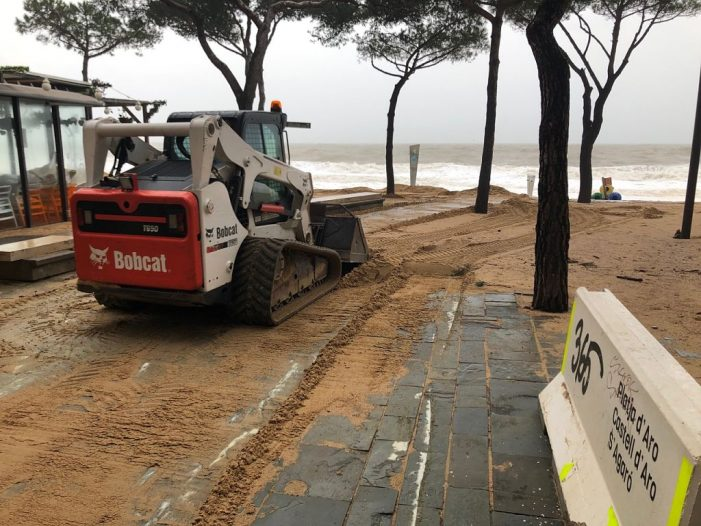Castell-Platja d'Aro no descarta demanar la declaració de zona catastròfica