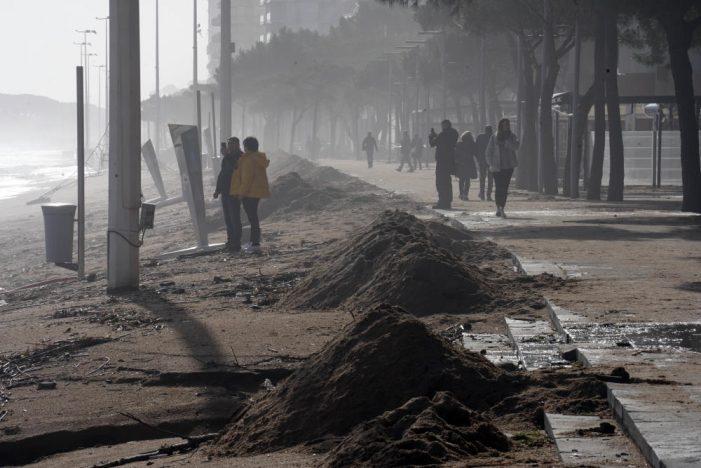 Els restauradors de Platja d'Aro afronten pèrdues econòmiques importants pel temporal