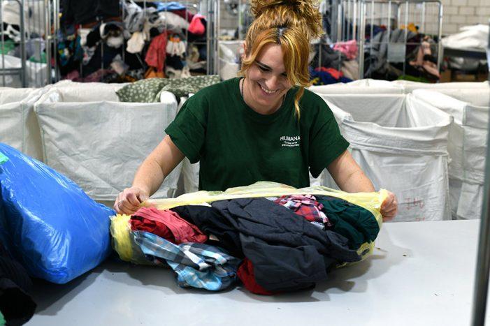 Balanç 2019 Fundació Humana: més de 19 tones de tèxtil recuperades per a fins socials, un augment del 48% respecte l'any anterior