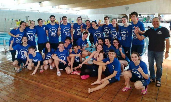 El Club Aquàtic Xaloc guanya el Campionat de Catalunya d'Hivern