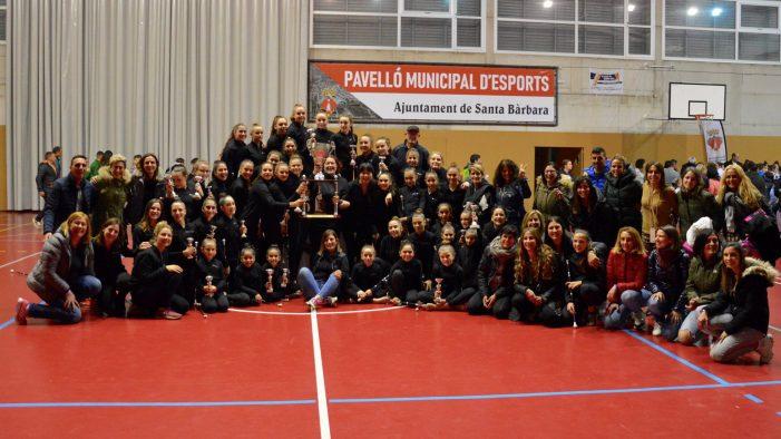 El Club Twirling Sant Feliu guanya la Copa Catalana