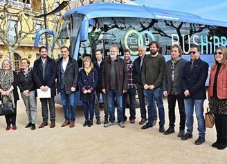 Un bus unirà Sant Feliu amb l'hospital Santa Caterina de Salt tres cops al dia