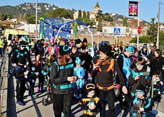 Santa Cristina Els més petits fan la seva rua