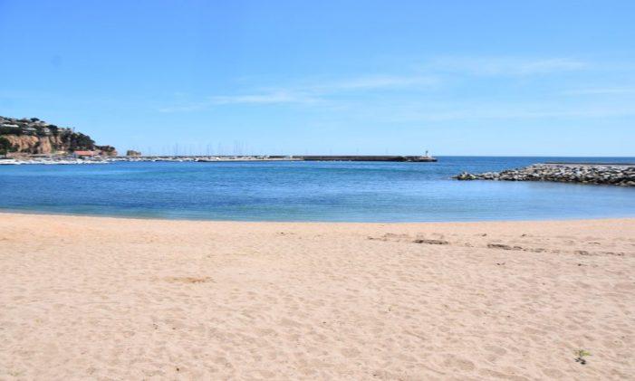 Sant Feliu de Guíxols obrirà les platges dilluns 1 de juny
