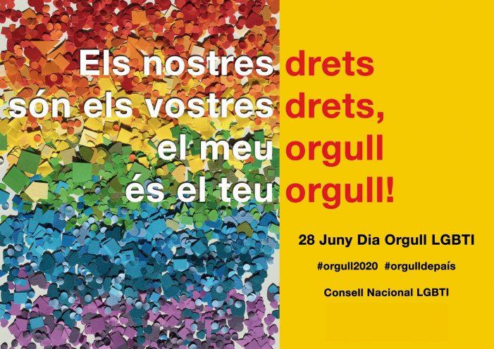 Sant Feliu de Guíxols commemora el Dia Internacional de l'Orgull LGBTI