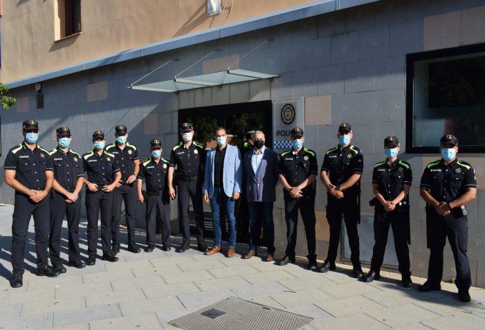 Vuit agents s'uneixen al cos de la Policia Local de Sant Feliu per als tres mesos d'estiu
