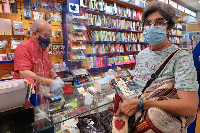 Sant Jordi d'estiu a les llibreries, floristeries i la Biblioteca