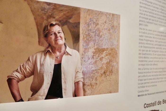 Glòria Muñoz exposa una quarantena d'obres a Castell d'Aro fins al 2 d'agost