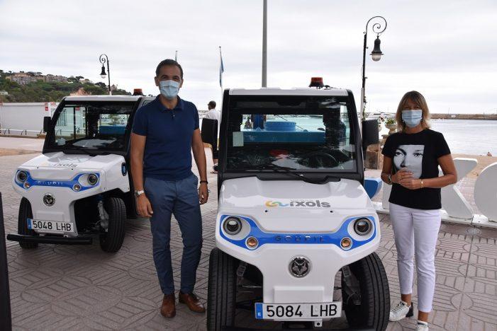 L'Ajuntament compra dos vehicles elèctrics per a la desinfecció de la ciutat