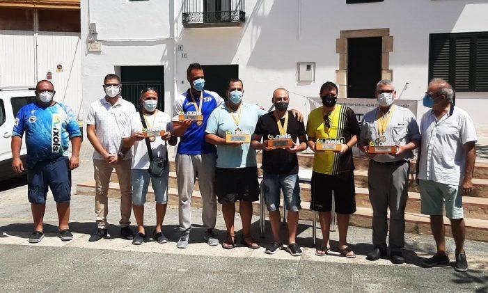 Quatre ganxons, premiats en el Campionat de Catalunya d'Embarcació Fondejada