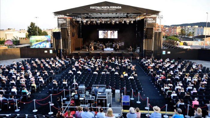 95% d'ocupació al 58 Festival Porta Ferrada de Sant Feliu de Guíxols.
