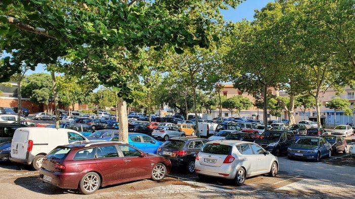 El pàrquing de la Corxera i algunes zones blaves tornen a ser de franc des del 16 de setembre