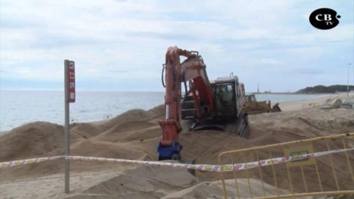 Restauració i futura ampliació del passeig marítim de Platja d'Aro