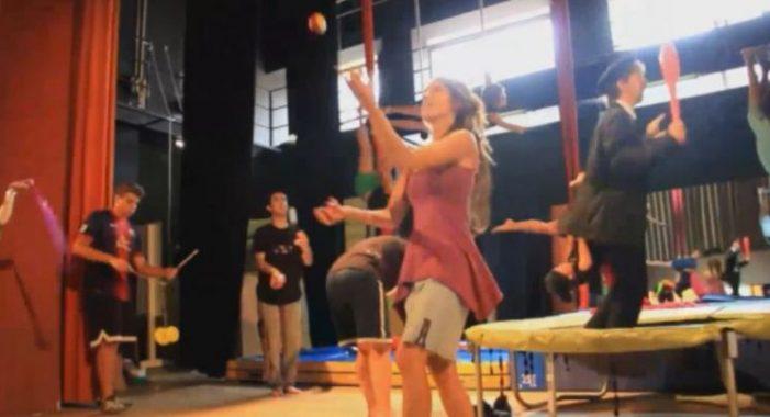 S'inaugura la primera escola de circ a Santa Cristina d'Aro