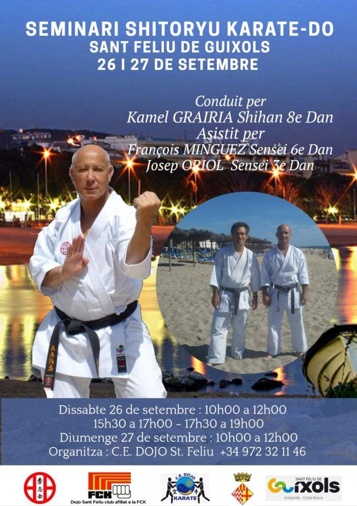 Seminari de Karate al Guíxols Arena
