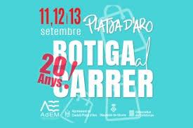 La «Botiga al carrer» de Platja d'Aro celebra els seus 20 anys amb sorteig