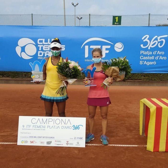 Sebastianna Scilipoti guanya el primer ITF Femení Platja d'Aro 365