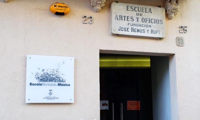 L'Escola de Música, el centre més afectat amb la nova normativa per frenar la Covid
