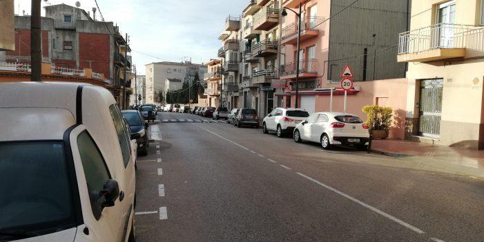 El tram de l'avinguda de Catalunya entre els carrers Canigó i Joan Camisó passarà a ser de sentit únic