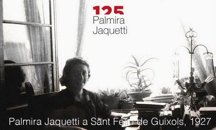 S'estrena online l'audiovisual dedicat a Palmira Jaquetti, aquest dissabte