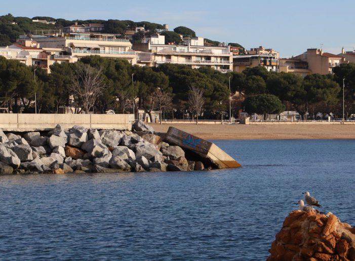 L'espigó de Garbí, a Sant Feliu, sense l'oposició ni subvencions