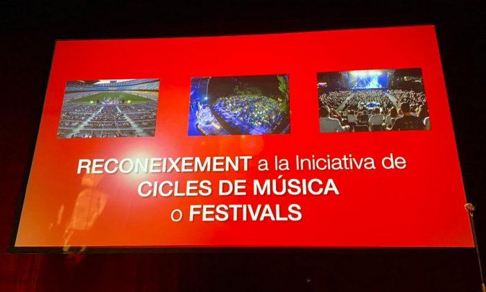 S'entreguen els reconeixements dels Premis ARC, amb nominació del Festival de la Porta Ferrada