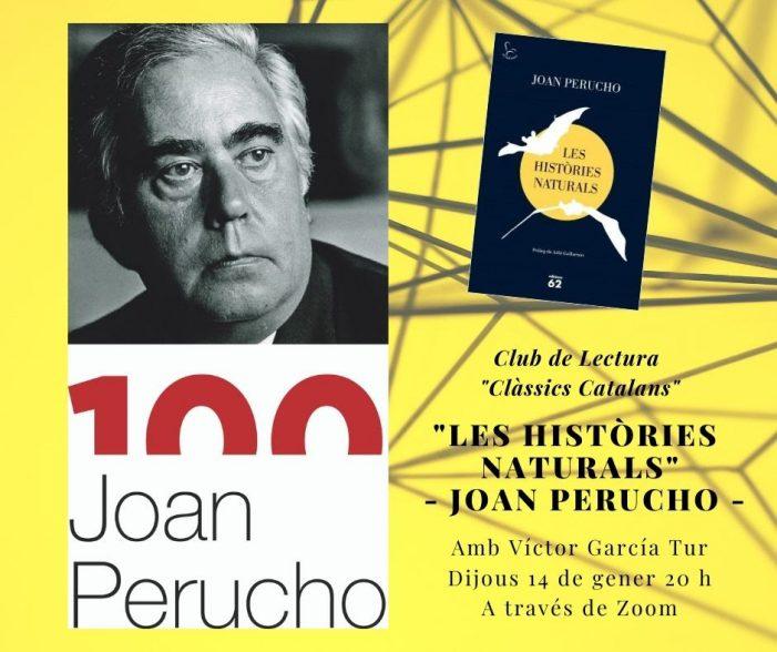 """Club de Lectura Virtual """"Clàssics Catalans"""" a la Biblioteca, amb Víctor García Tur"""