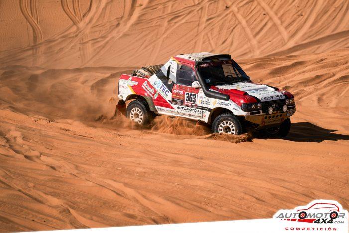 Els germans guixolencs Rubén i Borja Rodríguez acaben el Rally Dakar de l'Aràbia Saudita en 45a posició