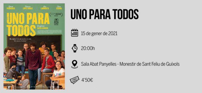 El Cicle Gaudí estrena nou format a Sant Feliu amb la pel·lícula 'Uno para todos'