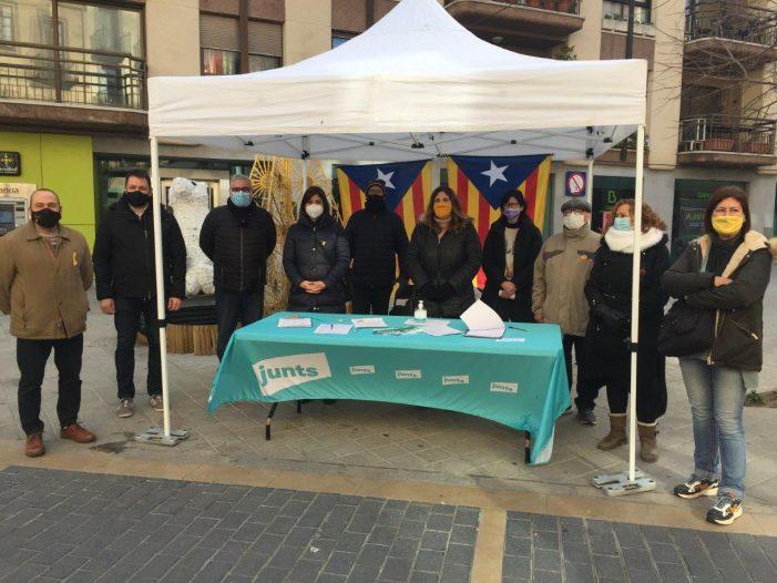 Més de 575 signatures recollides a Sant Feliu de Guíxols