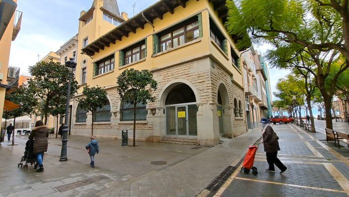 L'Ajuntament de Sant Feliu vol comprar el local de l'antiga sucursal de La Caixa situat a la Rambla