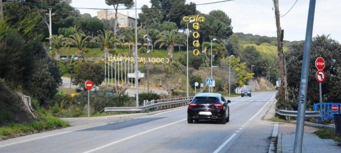 Calonge i Sant Antoni reben la cessió de la carretera de Platja d'Aro per crear la via verda