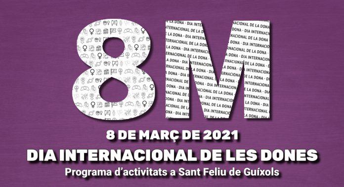 Consulta el programa d'activitats del Dia Internacional de les Dones a Sant Feliu de Guíxols