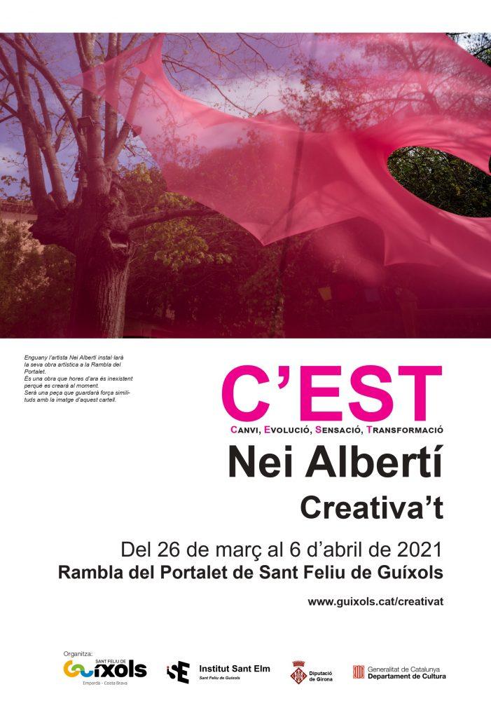 Aquest divendres s'inaugura el Creativa't 2021 a la Rambla del Portalet