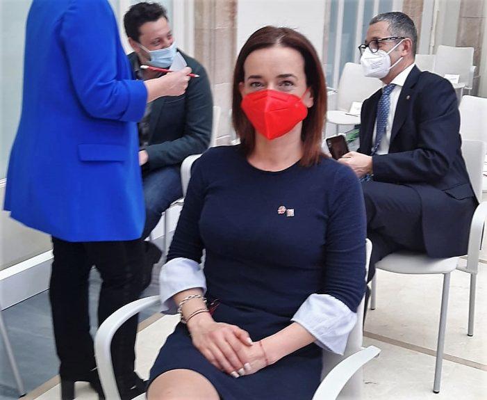 Mònica Ríos, la primera diputada de Castell-Platja d'Aro i S'Agaró