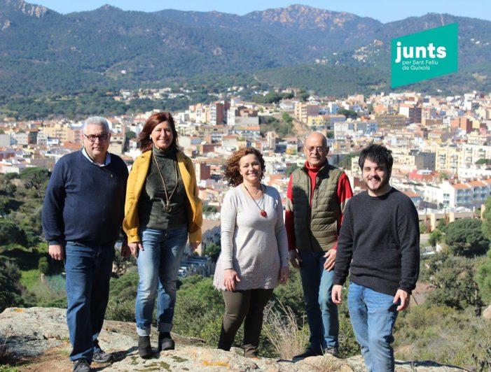 Els afiliats de Junts per Sant Feliu de Guíxols han escollit el primer comitè local