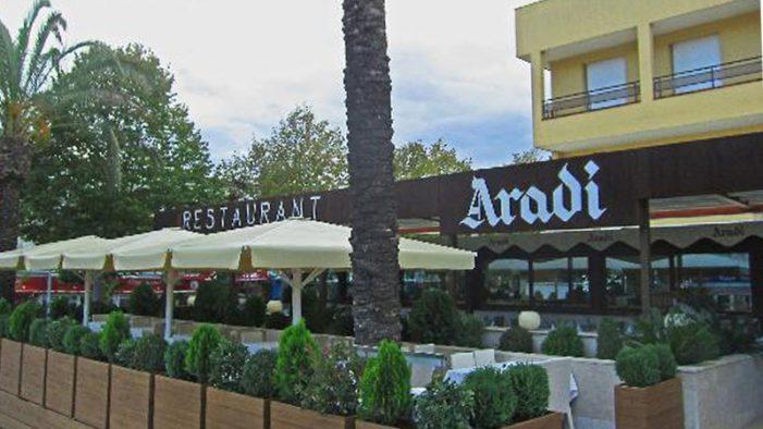 El restaurant Aradi es trasllada a l'hotel Costa Brava