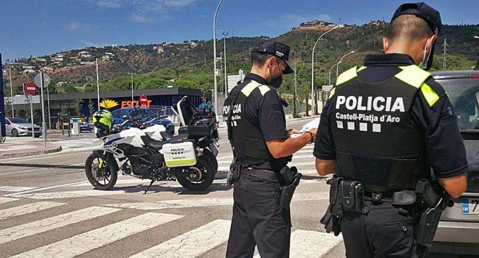 La Policia Local de Platja d'Aro deté sis lladres per robar en habitatges en una setmana