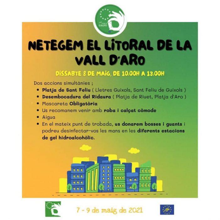 Polseres Verdes organitza una neteja de la platja de Sant Feliu aquest dissabte