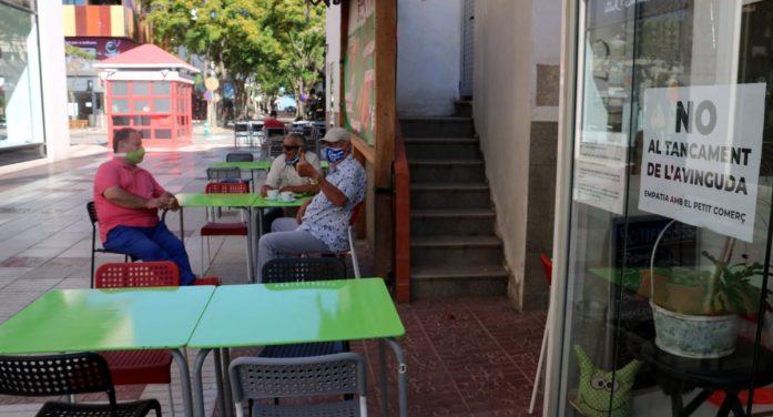 Els comerciants de Platja d'Aro, en contra dels talls de trànsit